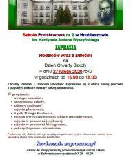 Dzień Otwarty w Szkole Podstawowej nr 2 w Hrubieszowie