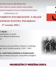 Dzień Podziemnego Państwa Polskiego 27 września 2020 r.